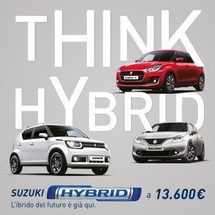 Suzuki HYBRID – L'Ibrido del Futuro