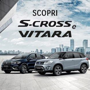 SCOPRI VITARA e S-CROSS